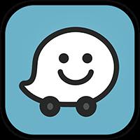 Drive using Waze